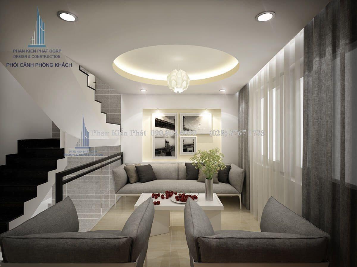 Nội thất phòng khách- tầng lửng view 2
