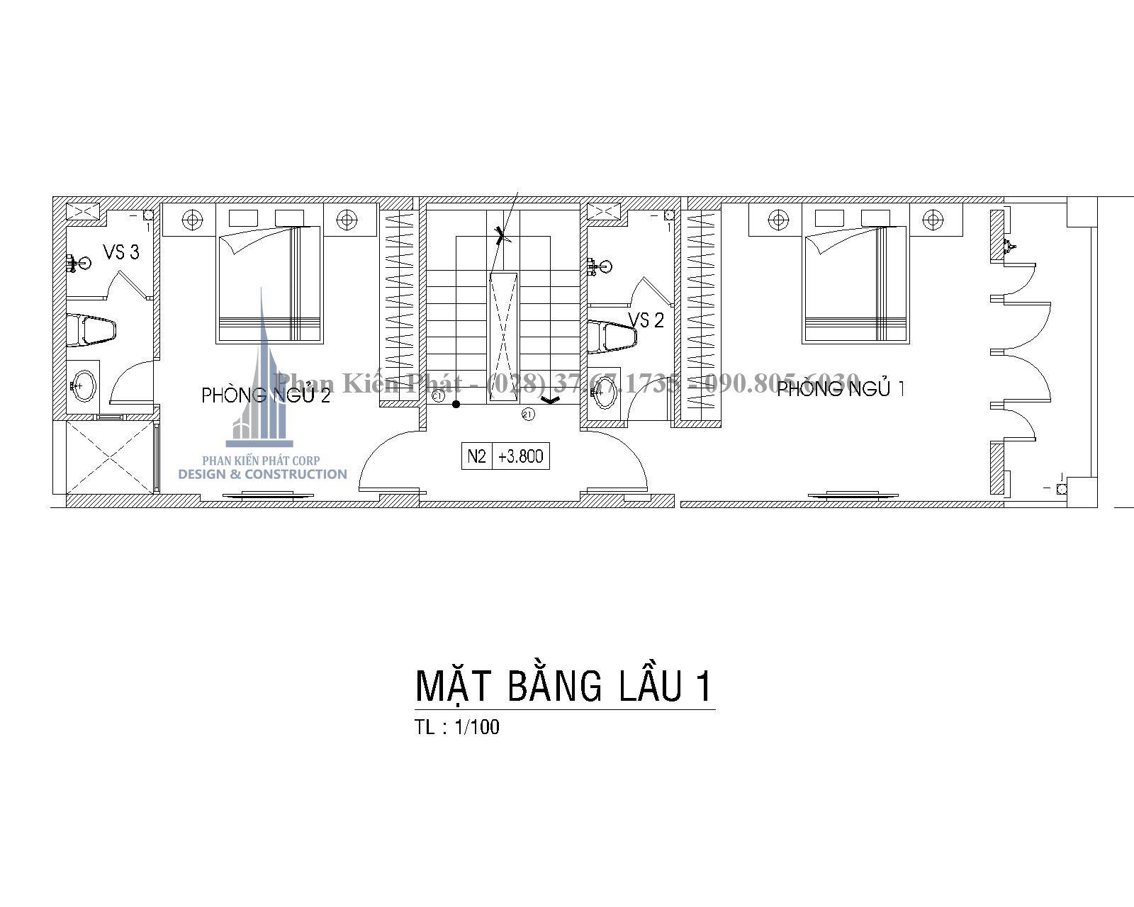 Mat Bang Lau 1 Nha Pho