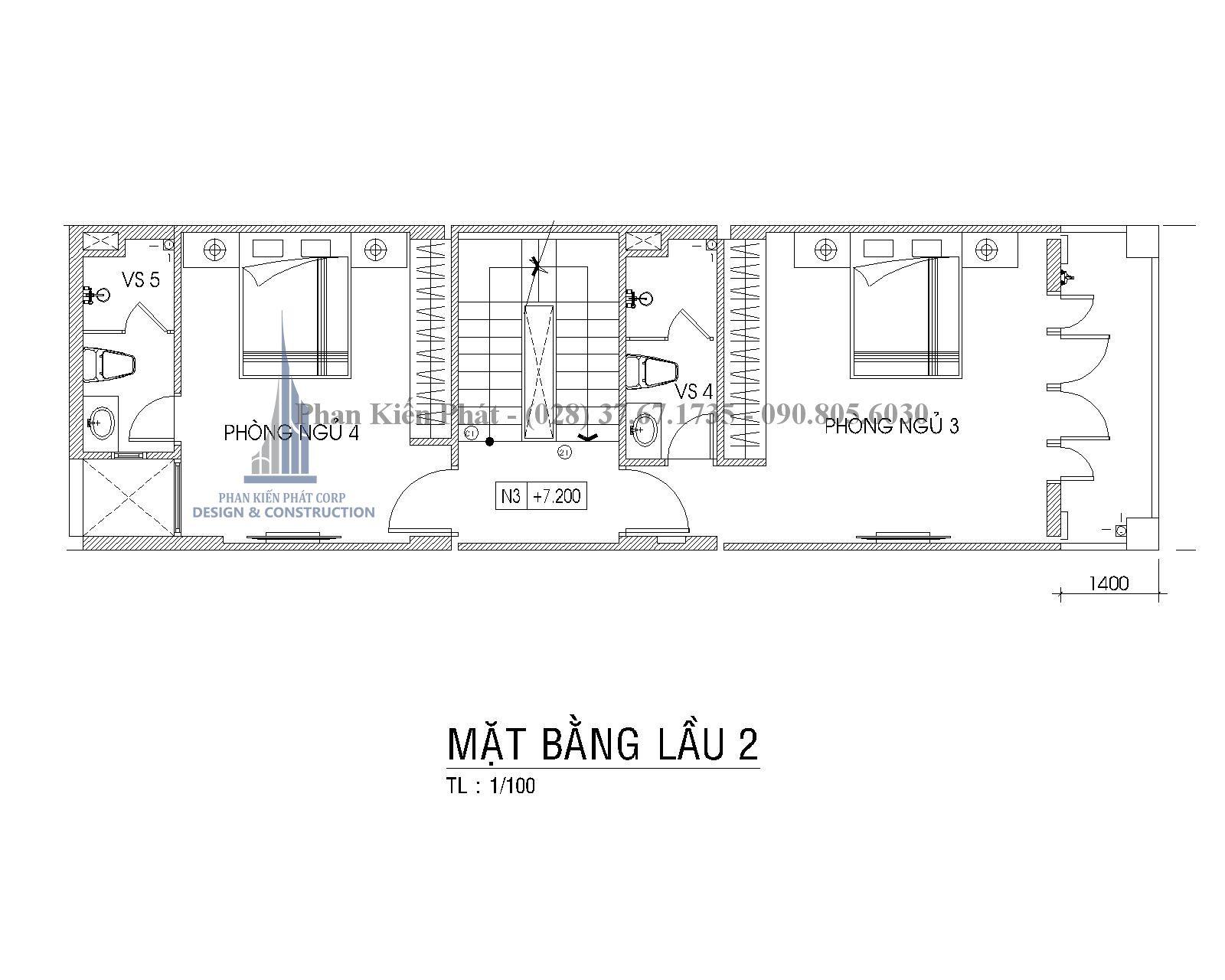 Mat Bang Lau 2 Nha Pho