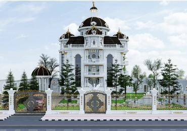 Mau Biet Thu Tan Co Dien 150m2