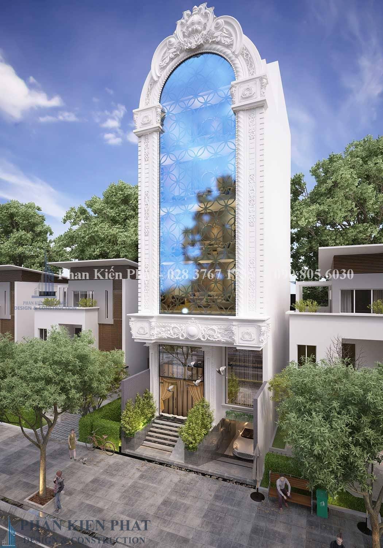 Biệt thự cổ điển kết hợp với kinh doanh quận 2 View 3