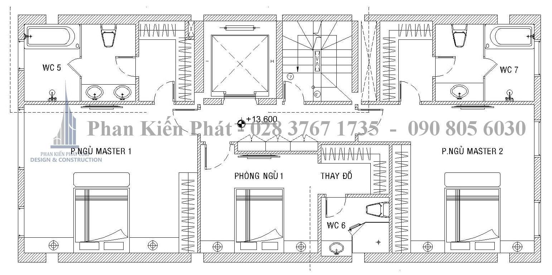 Mat Bang Bo Tri Vat Dung Lau 4 - biệt thự cổ điển kết hợp kinh doanh Quan 2