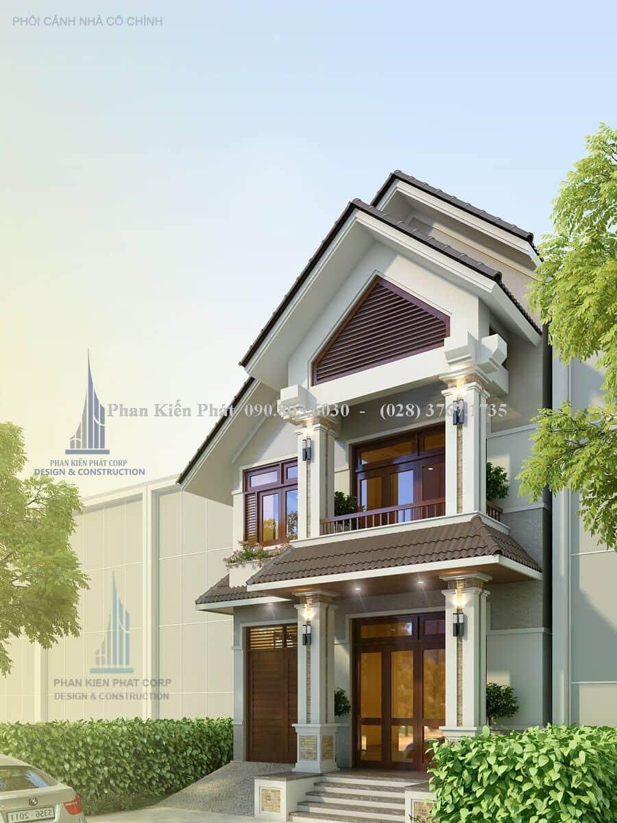 Thiet Ke Nha Pho Mai Goi View 1