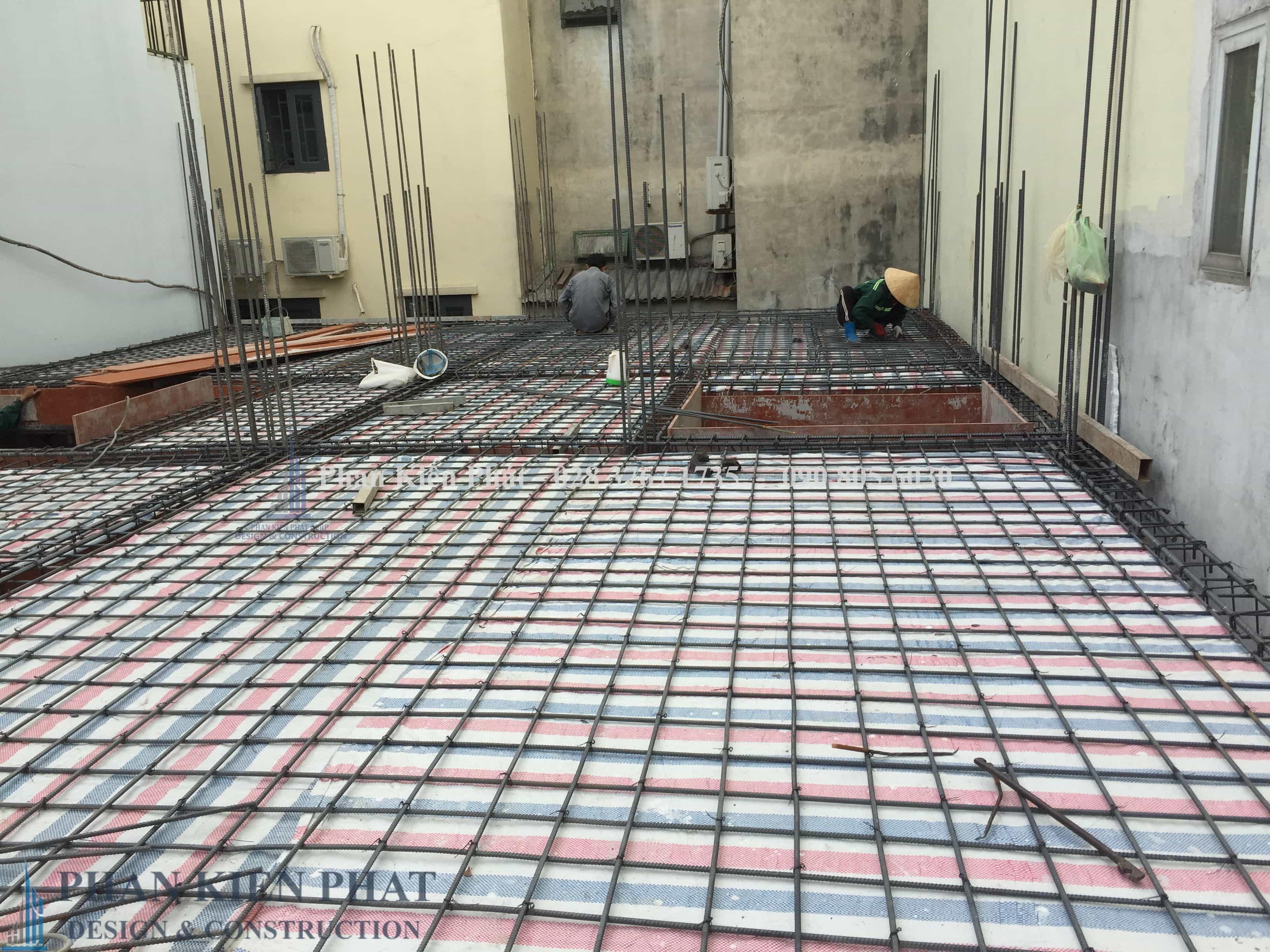 Gia Cong Lap Dung Cot Thep Dam San Lau 1 View 1 - công trình xây dựng trọn gói