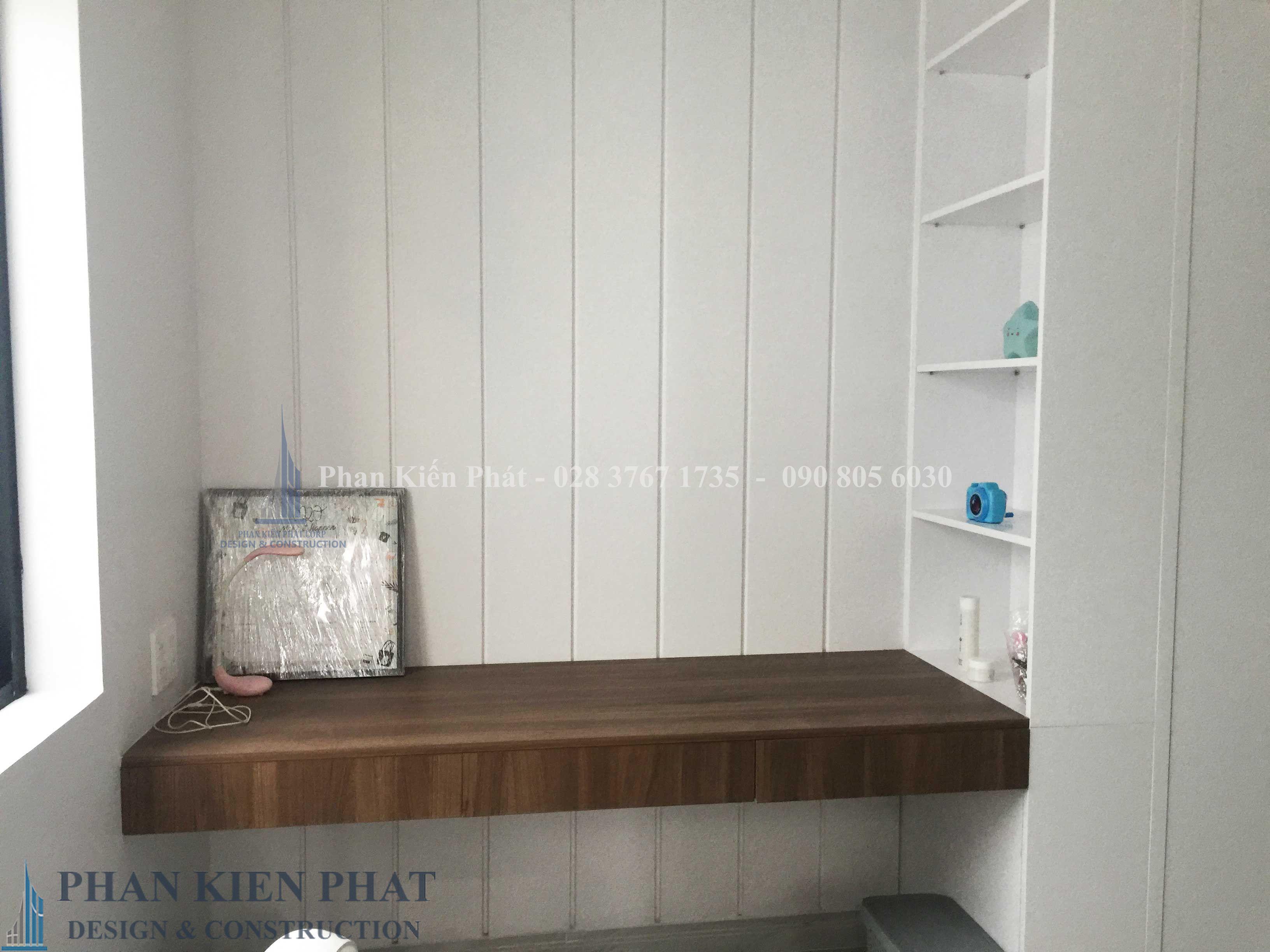 Hoan Thien Noi That Phong Ngu Con Gai Lau 3 View 4 - nhà phố lệch tầng