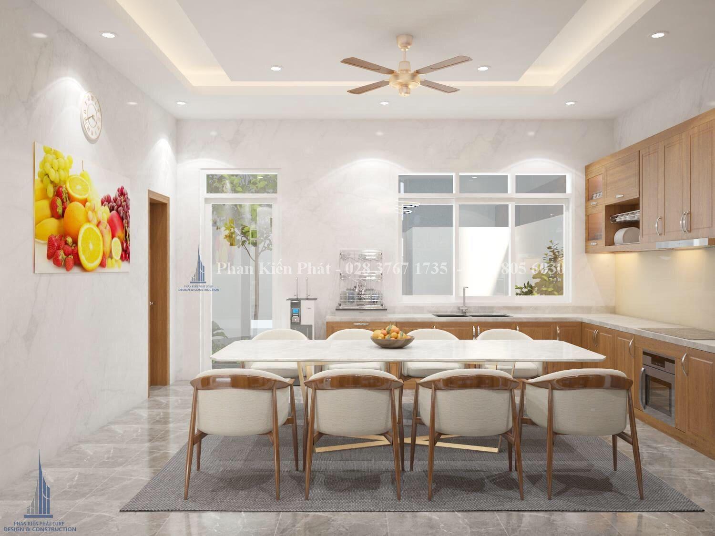 Noi That Phong Bep An 1 - mẫu thiết kế biệt thự 3 tầng