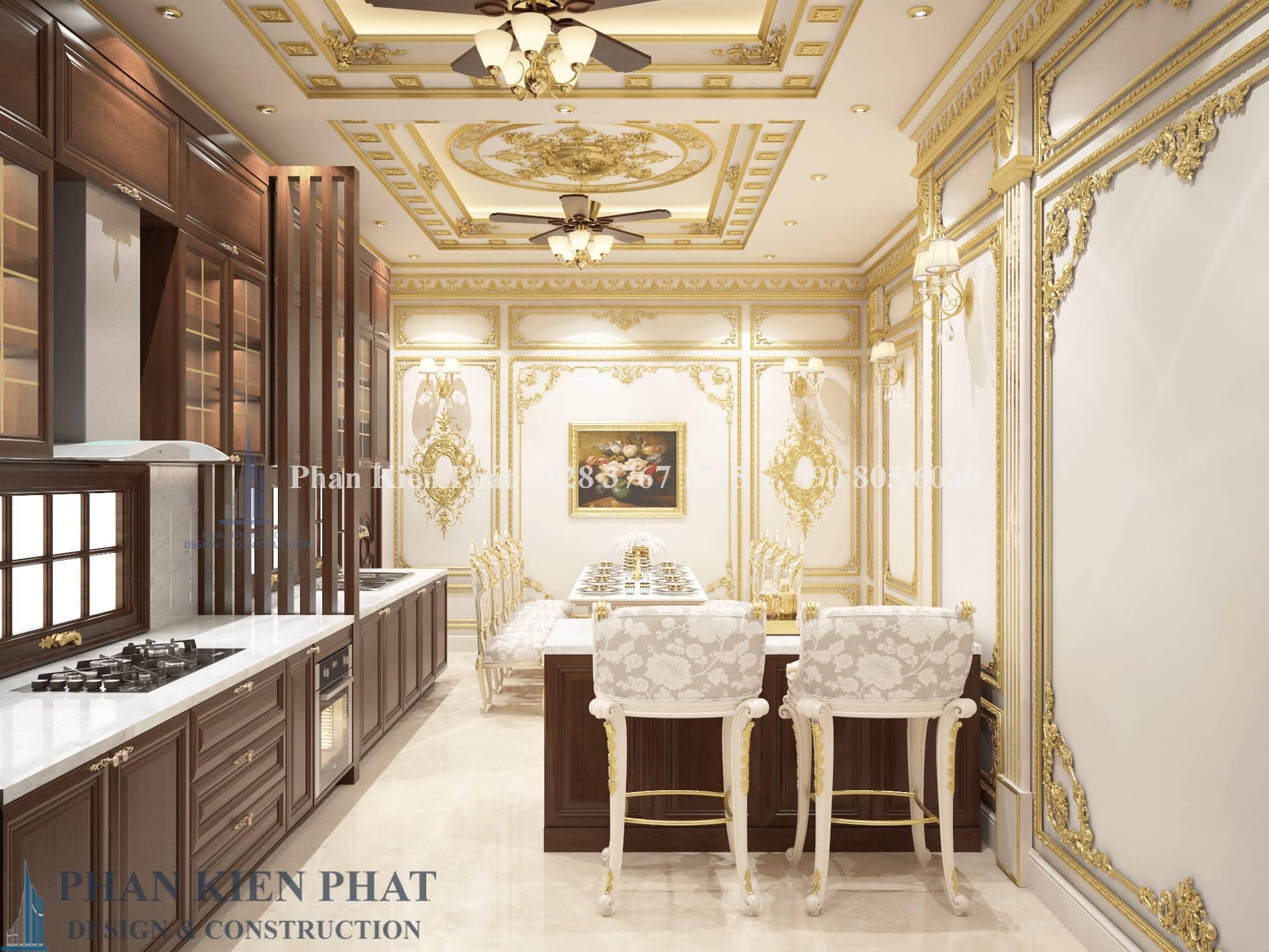 Noi That Phong Bep An Biet Thu Co Dien Dep View 1 - thiết kế biệt thự cổ điển