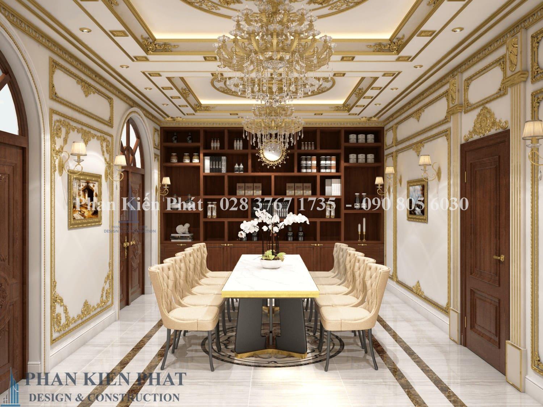 Noi That Phong Hop Biet Thu Co Dien View 2 - của mẫu thiết kế biệt thự cổ điển