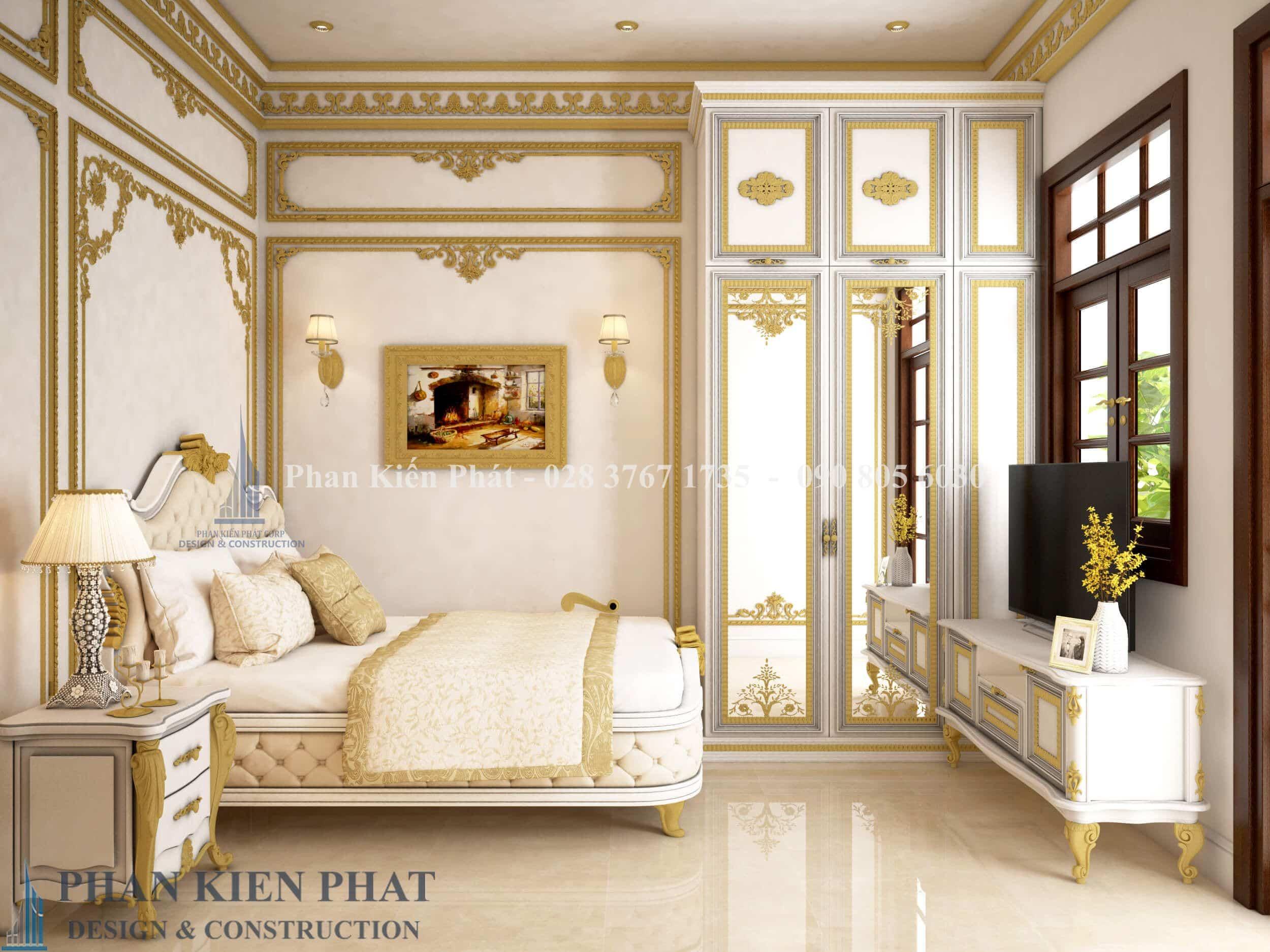 Noi That Phong Ngu 2 Biet Thu Co Dien View 1