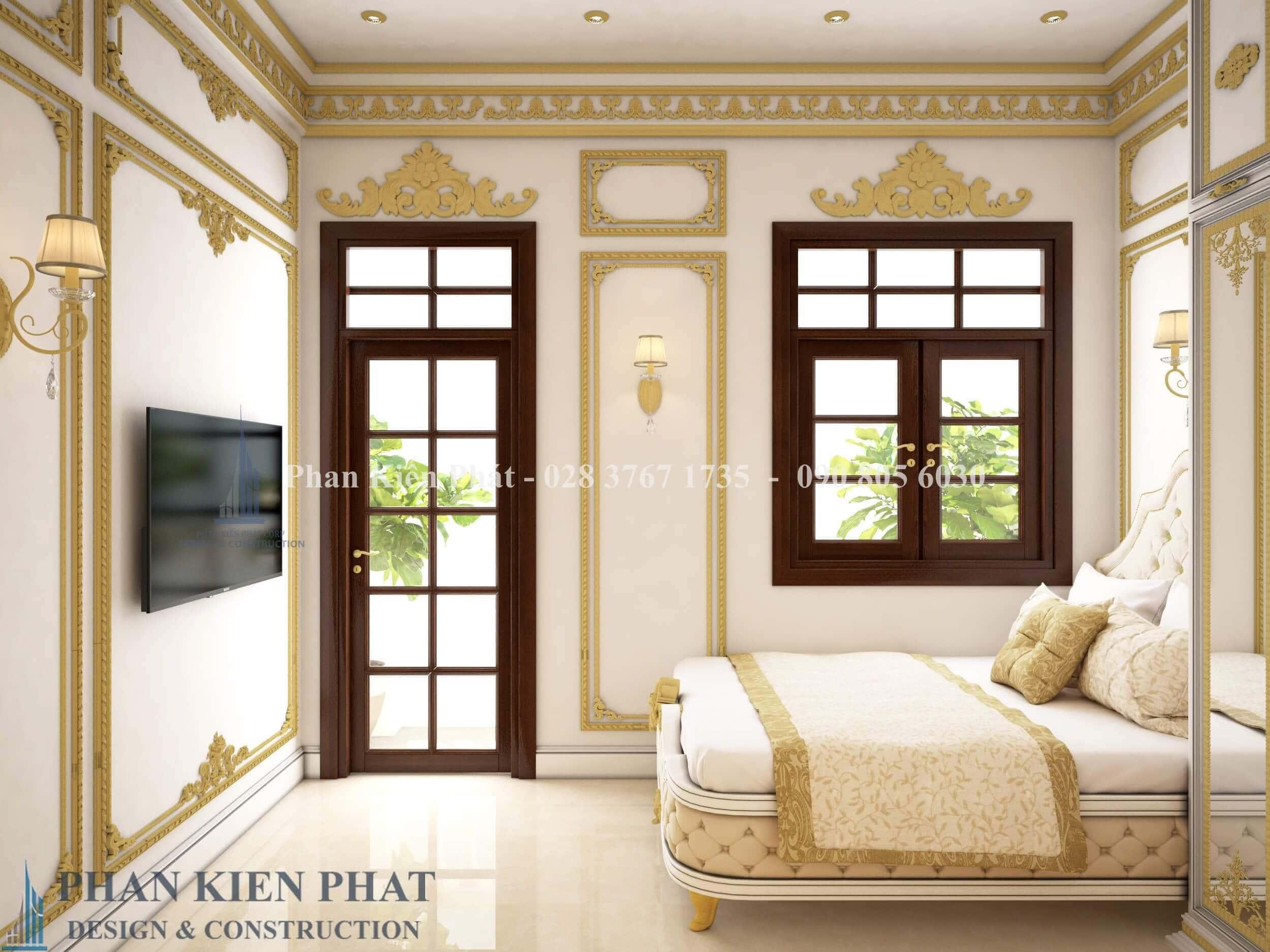 Noi That Phong Ngu 3 Biet Thu Co Dien View 3