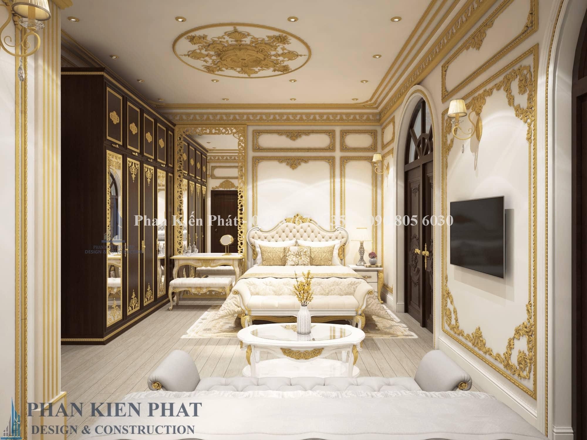 Noi That Phong Ngu Bo Me Biet Thu Co Dien View 1 - thiết kế biệt thự cổ điển