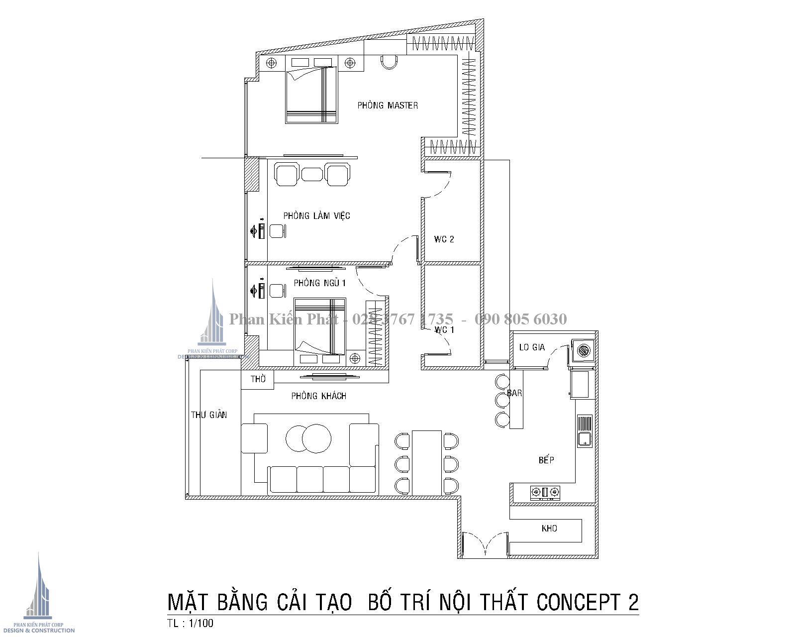 Can Ho Nguyen Huu Canh Mat Bang Cai Tao Bo Tri Concept 2