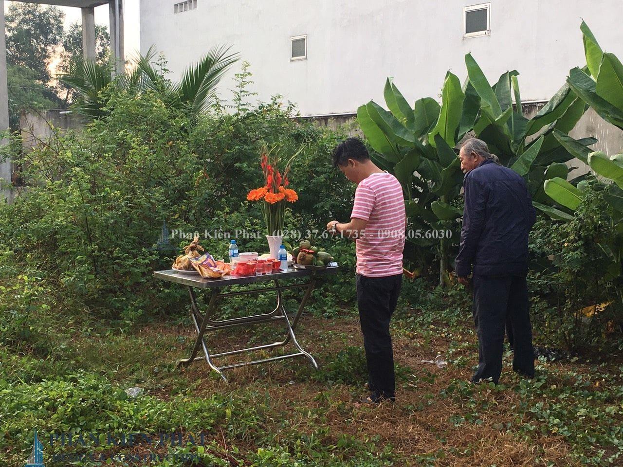 Cong Tac Cung Khoi Cong Biet Thu Vuon V1