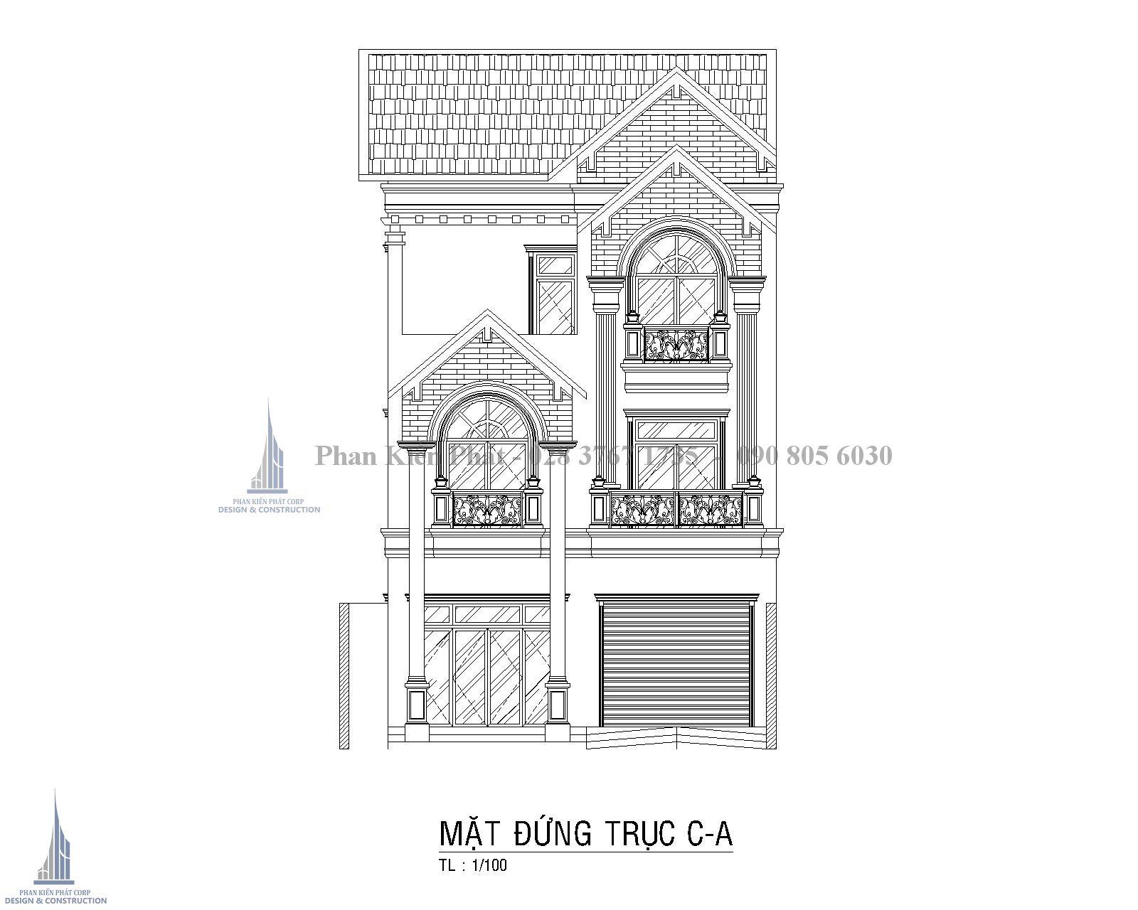 Mat Bang Dung Biet Thu Pho Co Dien