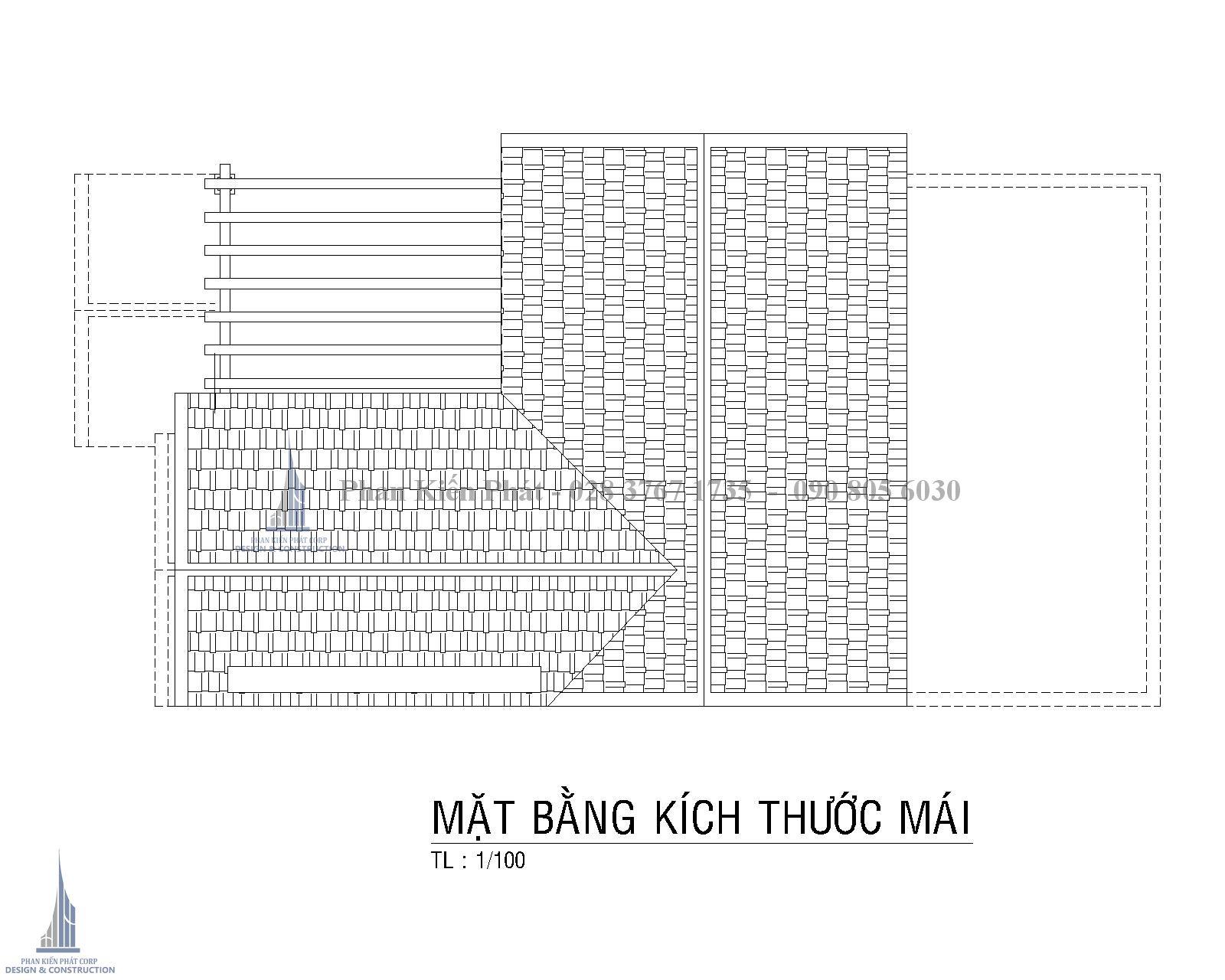 Mat Bang Tang Mai Biet Thu Co Dien