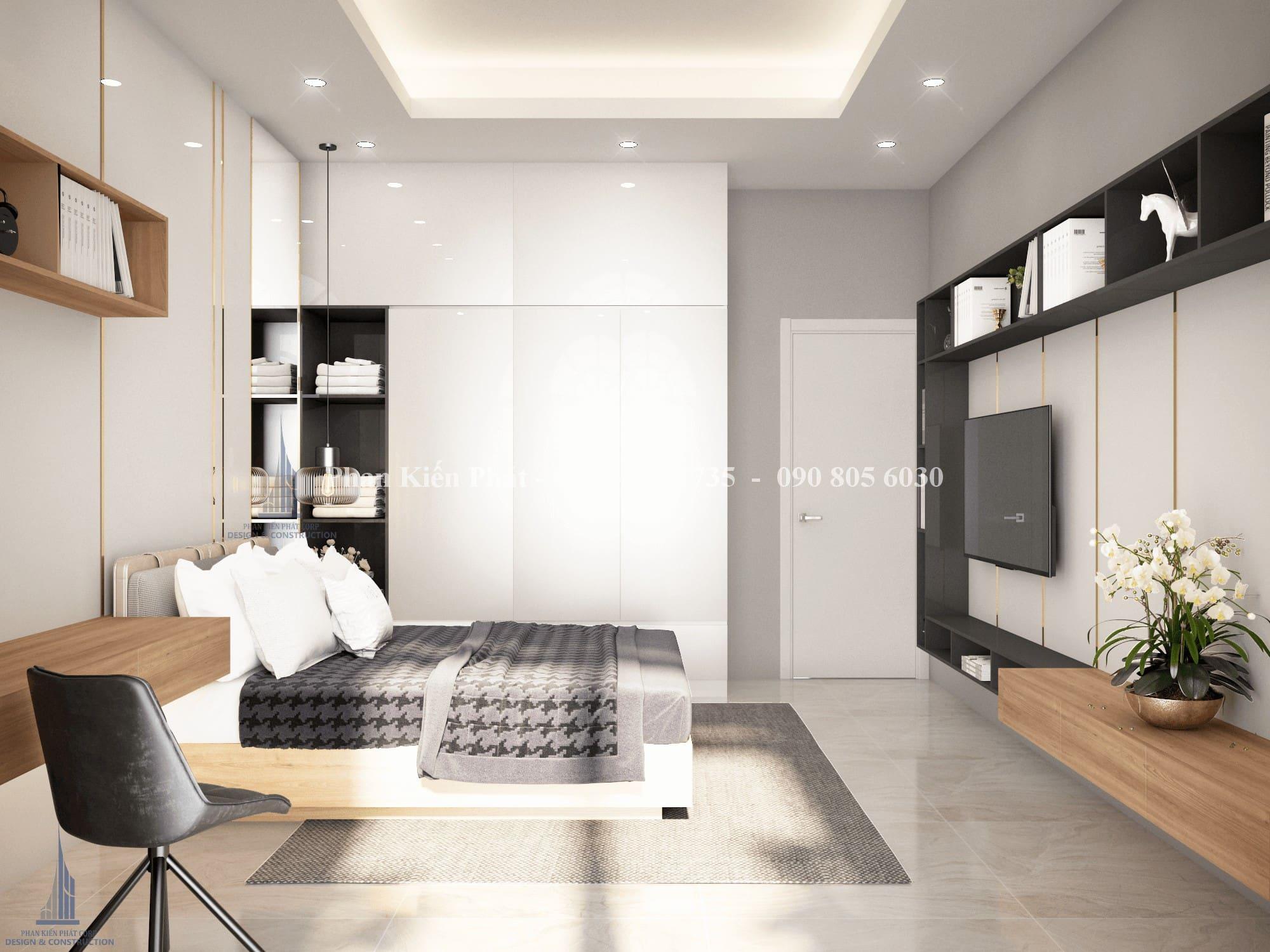 Thiet Ke Noi That Phong Ngu 1 View 2.png - mẫu biệt thự 3 tầng mái thái