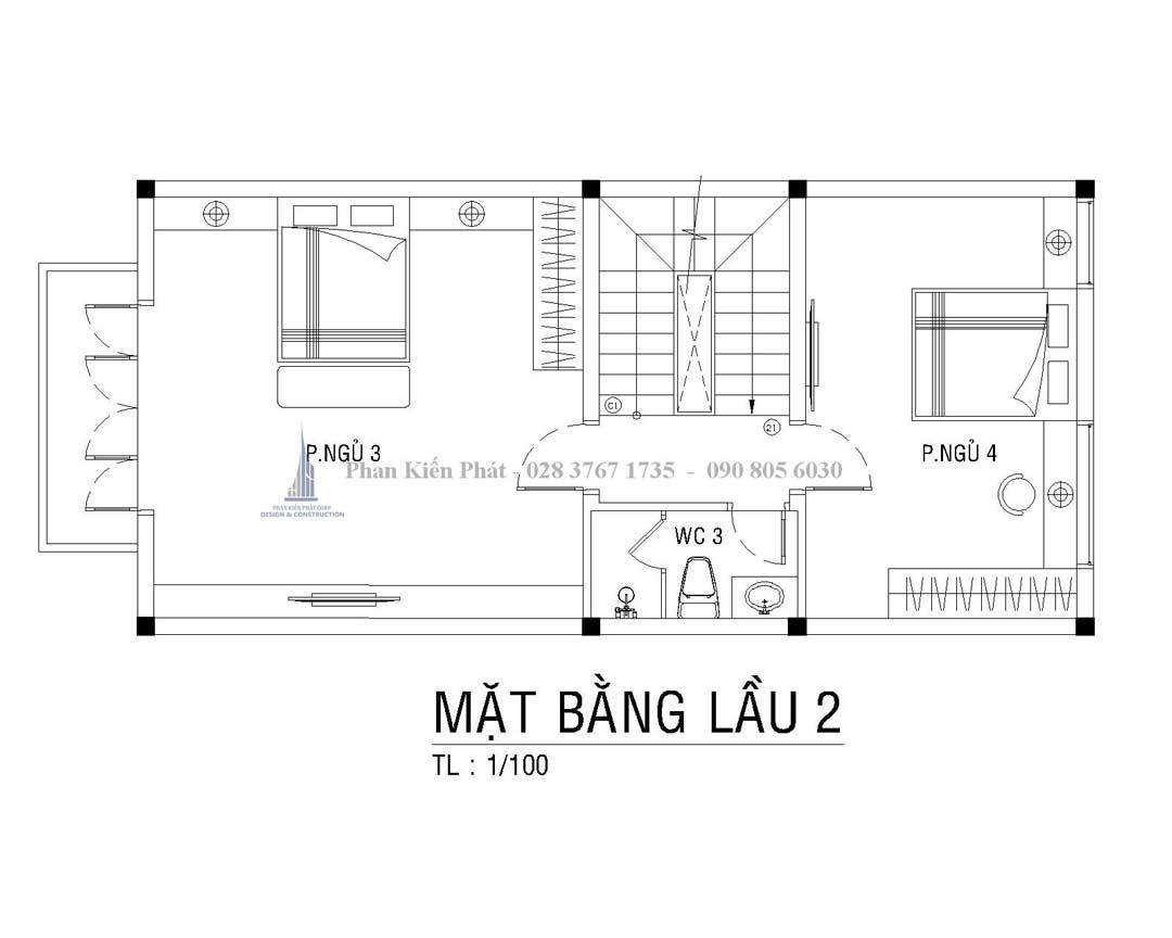 Bo Tri Mat Bang Lau 2 Nha Pho Tan Co Dien Anh Thien 1