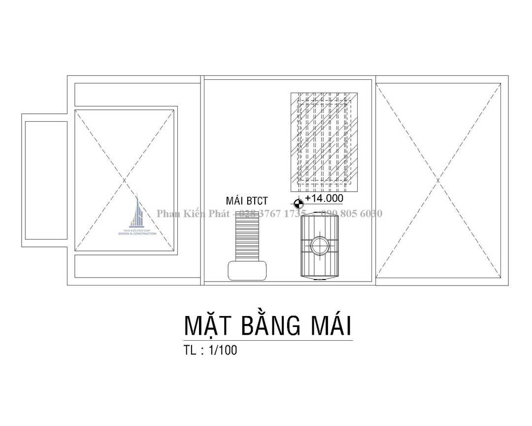 Bo Tri Mat Bang Mai Nha Pho Tan Co Dien Anh Thien 1 - mẫu nhà phố tân cổ điển đẹp