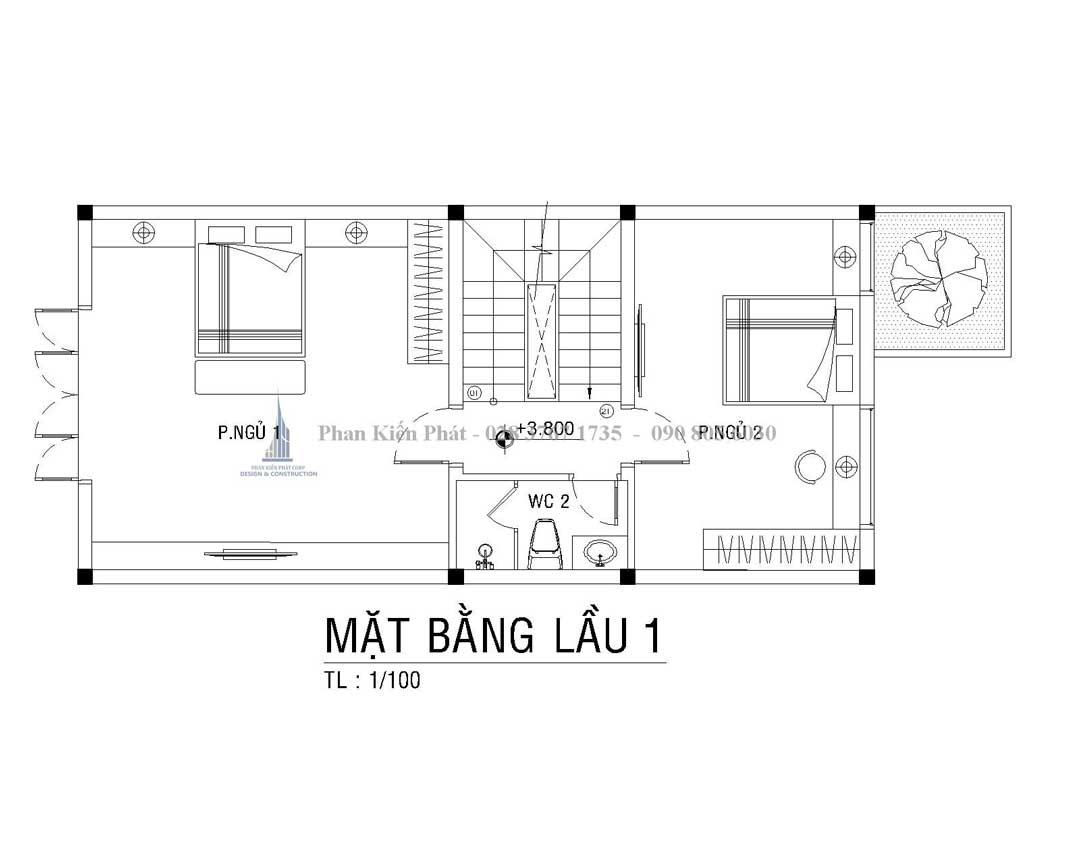 Bo Tri Mat Bang Lau 1 Nha Pho Tan Co Dien Anh Thien 1