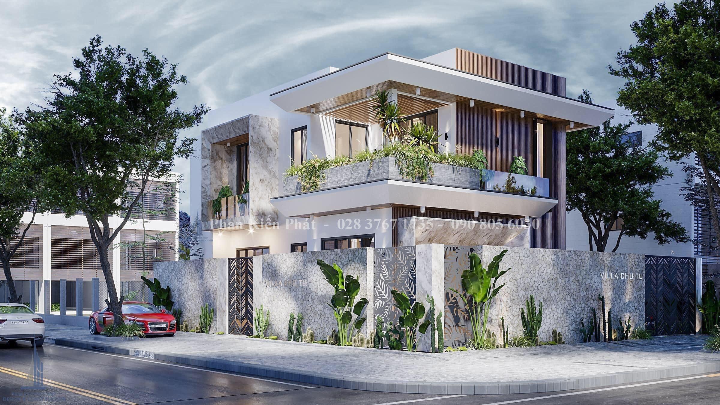 Biet Thu Vuon 2 Tang Dep Phan Thiet 3 - mẫu biệt thự 2 tầng