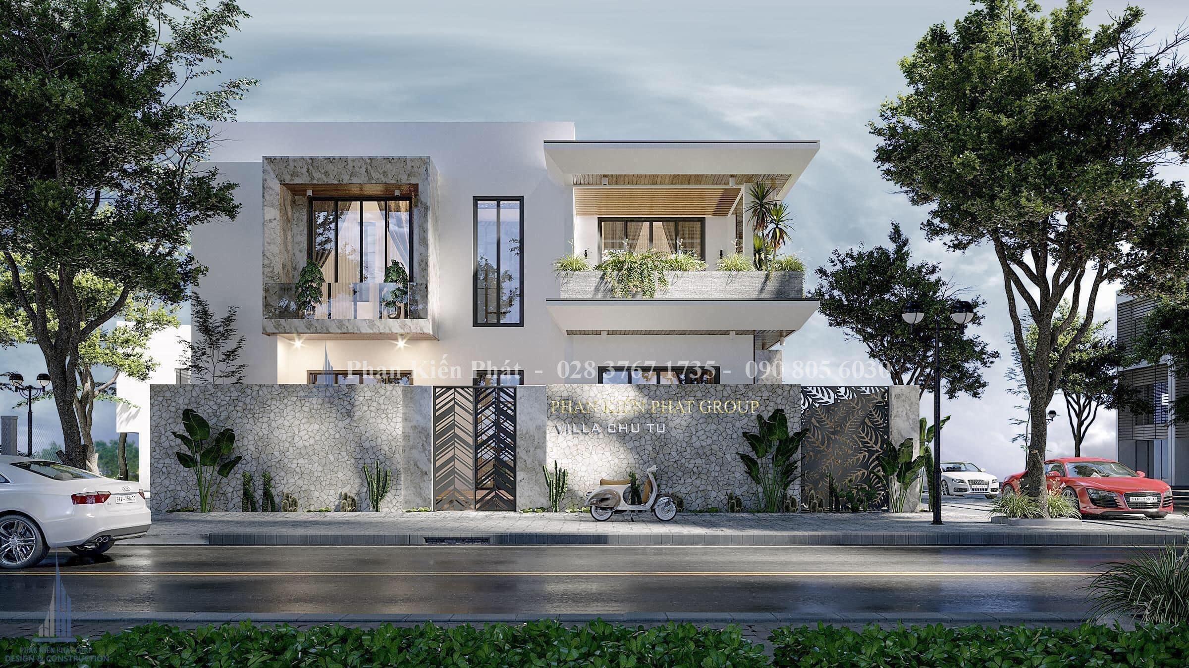 Biet Thu Vuon 2 Tang Dep Phan Thiet 4- mẫu biệt thự 2 tầng