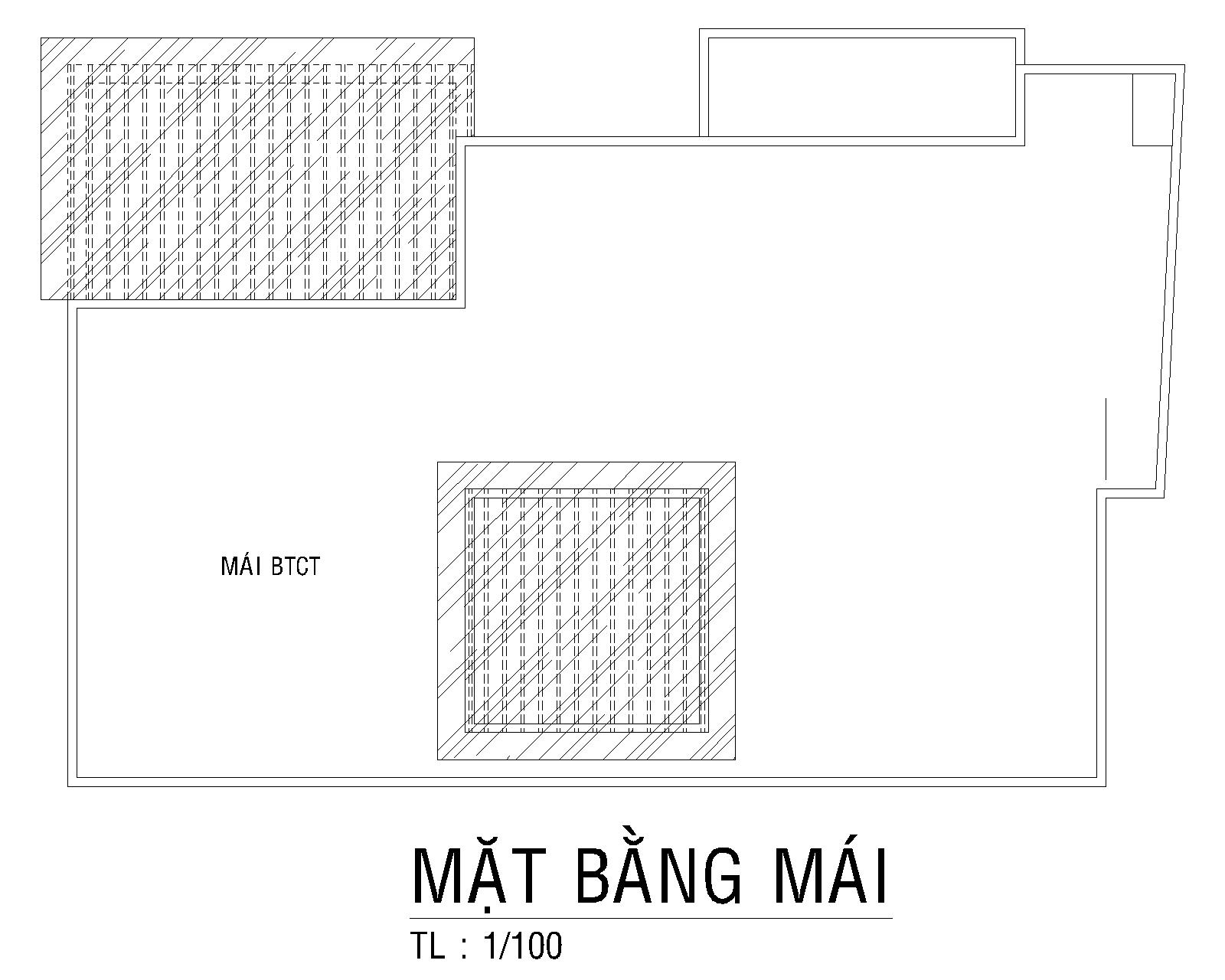 Mat Bang Mai Biet Thu Vuon Chu Tu