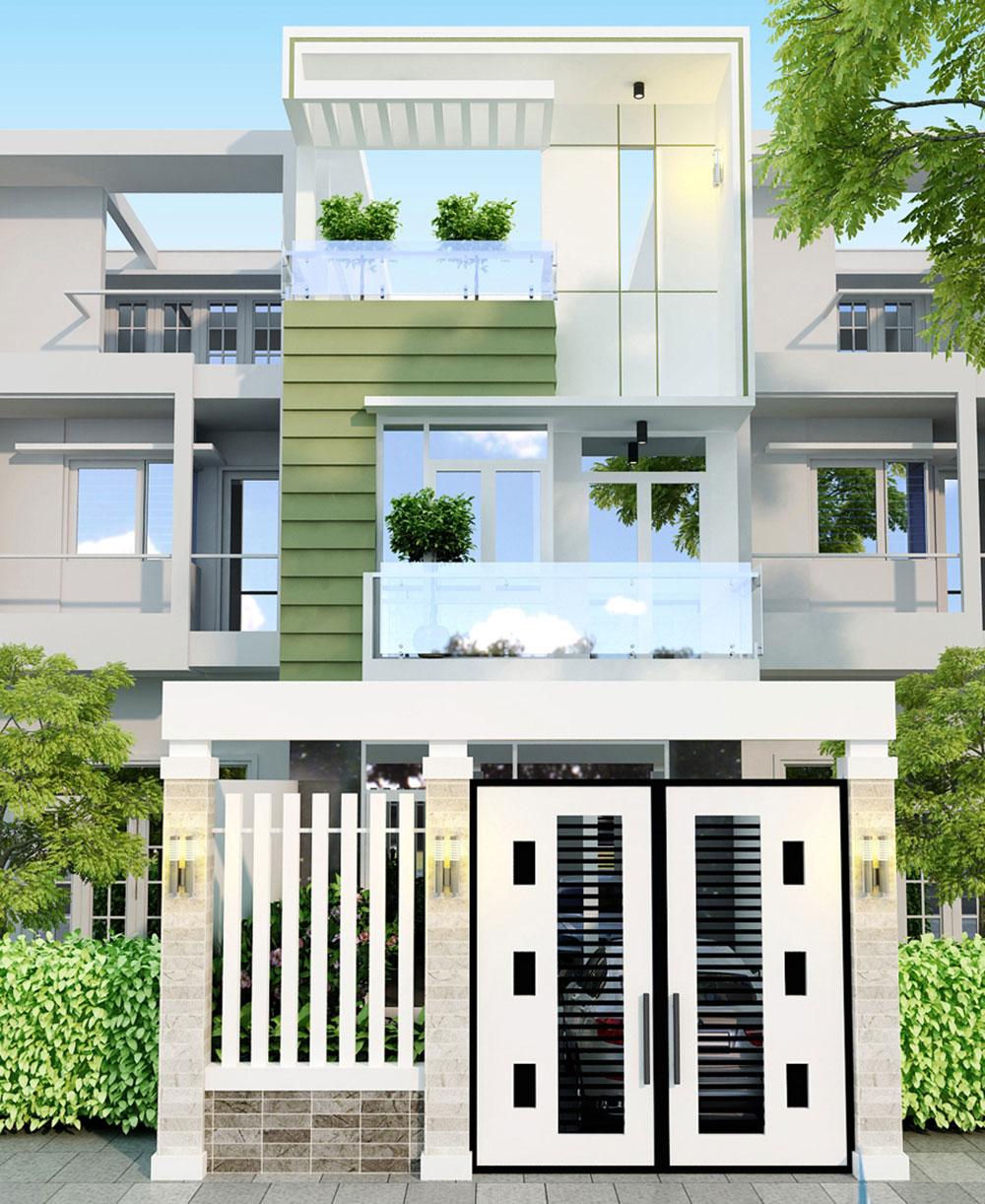 Nhà phố 3 tầng đẹp, sang trọng hiện đại của Anh Lê Văn Hưng, Đức Hòa, Long An
